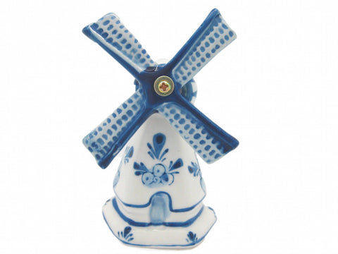 "Decorative Ceramic Windmill (4"") - OktoberfestHaus.com  - 1"