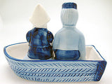 Collectible Salt and Pepper Shakers: Delft Boat - OktoberfestHaus.com  - 4