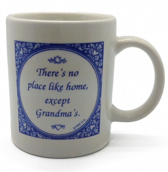 No Place Like Grandma's Ceramic Coffee Mug - OktoberfestHaus.com  - 1
