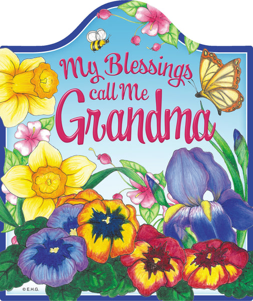 """My Blessing Call Me Grandma"" -Decorative Trivet - DutchGiftOutlet"