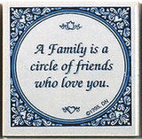 Inspirational Wall Plaque: Family Circle Friends.. - OktoberfestHaus.com  - 1