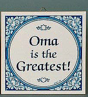 Gift For Oma: Oma The Greatest! - OktoberfestHaus.com  - 1
