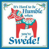 Kitchen Wall Plaques: Humble Swede - OktoberfestHaus.com  - 1