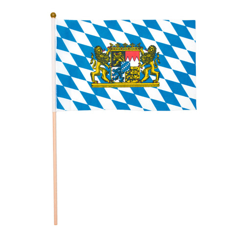 Hand Flag Decoration for Oktoberfest Party