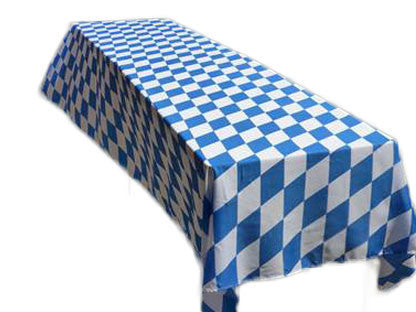 Oktoberfest Party Supply Polyester Tablecloth - OktoberfestHaus.com  - 1
