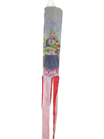 Holland Wind Sock: Tulip Girl - OktoberfestHaus.com