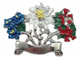 German Hat Pin: Alpine Flowers - OktoberfestHaus.com  - 1