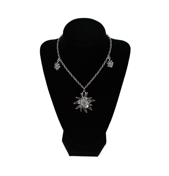 German Edelweiss Necklace - OktoberfestHaus.com  - 1