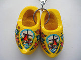 Dutch Gift Idea Wooden Shoes Keychain Natural - OktoberfestHaus.com  - 10