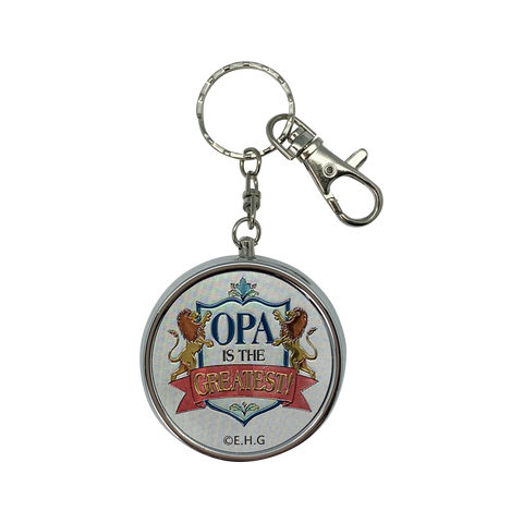 """Opa is the Greatest"" Pill Case Organizer Gift Idea"