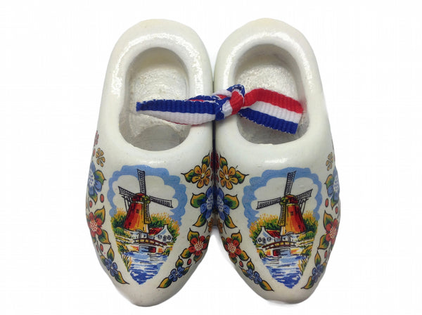 Holland Wooden Shoes Magnet Multi Color