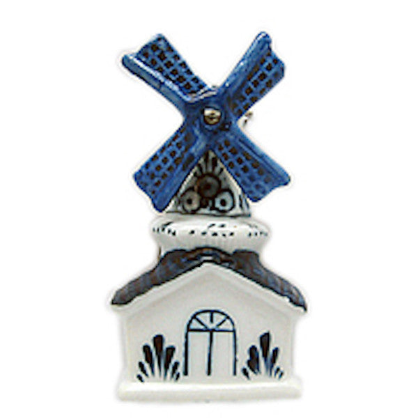 Dutch Souvenir Magnets 3 D Windmill House - OktoberfestHaus.com  - 1