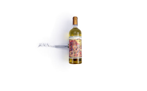 White Wine Bottle Opener Kitchen Magnetic