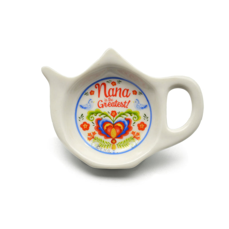 """Nana is the Greatest"" Teapot Magnet with Birds Design  - OktoberfestHaus.com"