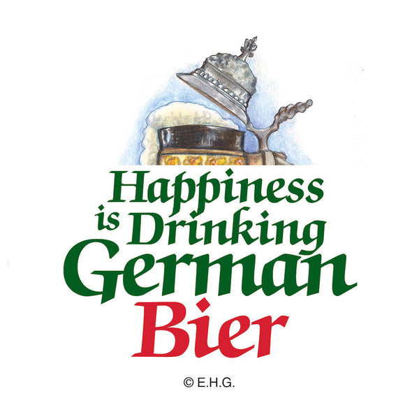 Magnetic Button: German Beer - OktoberfestHaus.com  - 1