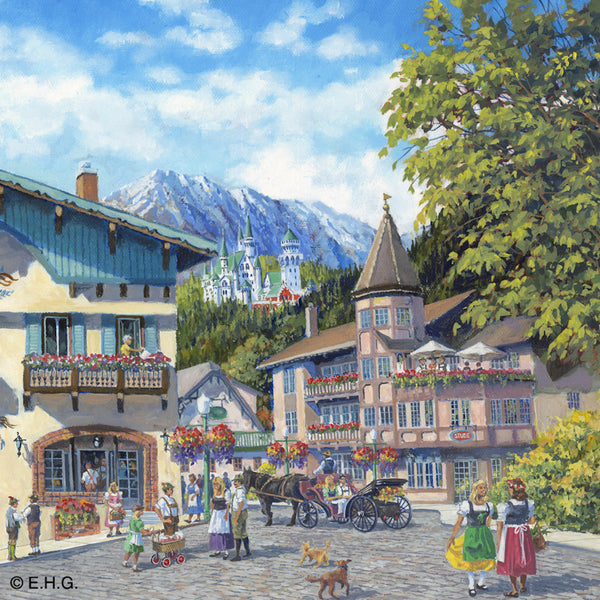 Magnetic Tile: German Summer - OktoberfestHaus.com  - 1