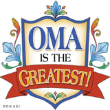 German Gift Idea Oma Magnetic Gift Tile - OktoberfestHaus.com  - 1