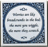 Magnetic Tiles Quotes: Worries Like Breadcrumbs - OktoberfestHaus.com  - 1