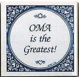 German Gift For Oma: Oma Is Greatest - OktoberfestHaus.com  - 1