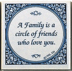 Magnet Tiles Quotes: Family Circle Of Friends - OktoberfestHaus.com  - 1