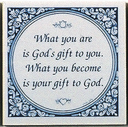 Magnet Tiles Quotes: God's Gift To You - OktoberfestHaus.com  - 1