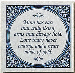 Magnet Tiles Quotes: Mom Has Ears That Listen - OktoberfestHaus.com  - 1