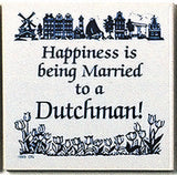 Dutch Culture Magnet Tile (Happily Married Dutchman) - OktoberfestHaus.com  - 1