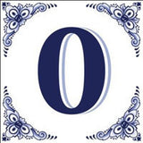 House Numbers Tile Blue and White - OktoberfestHaus.com  - 10