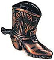 Antique Pencil Sharpener: Cowboy Boot - OktoberfestHaus.com