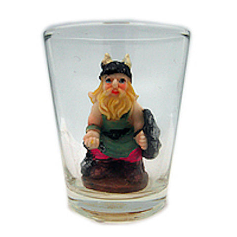 Souvenir Viking 3 D Novelty Shot Glass - OktoberfestHaus.com  - 1