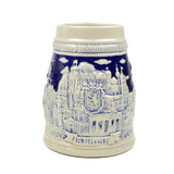 Cobalt Blue Landmarks of Berlin .75L Beer Stein -2