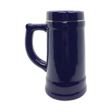 .75L Village Cobalt Blue Medallion Stein -2