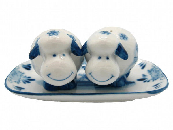 Unique Salt and Pepper Shakers Happy Sheep - OktoberfestHaus.com  - 1