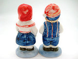 Vintage Salt and Pepper Shakers Scandinavian Standing Couple - OktoberfestHaus.com  - 2