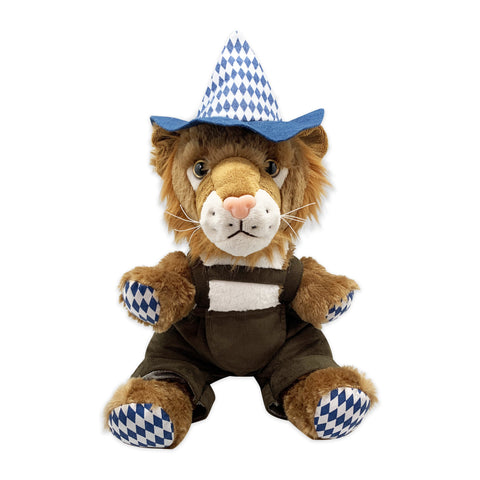 Stuffed Animal Bavarian Lion Plush Toy