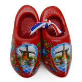 Holland Wooden Shoes Deluxe Red - OktoberfestHaus.com  - 1