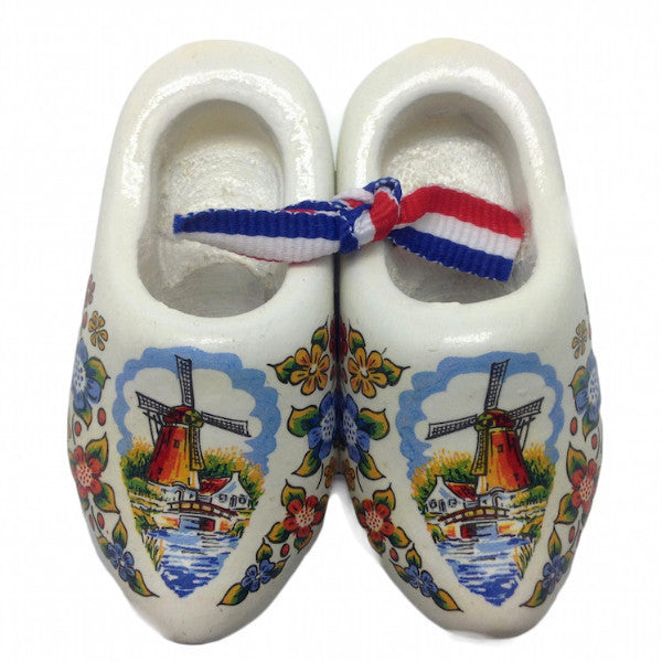 Holland Wooden Shoes Deluxe Multi Color - OktoberfestHaus.com