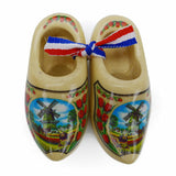 Holland Wooden Shoes Deluxe Tulip - OktoberfestHaus.com  - 1