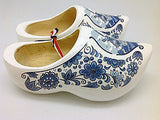 "Decorative Wooden Shoe w/ Dutch Landscape Design Blue & White Design 4.25"" - OktoberfestHaus.com  - 6"