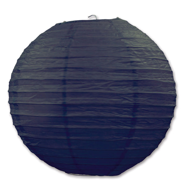 Black German Paper Lanterns Party Decorations(for German Flag Ensemble) - OktoberfestHaus.com