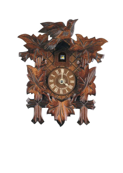 "Schneider Black Forest 9"" Quartz Basic German Cuckoo Clock - OktoberfestHaus.com"