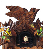 Schneider Traditional Quartz German Cuckoo Clock with Hand Painted Flowers - OktoberfestHaus.com  - 3