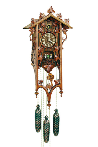 "Schneider Black Forest 27"" Musical Railroad House Eight Day Movement German Cuckoo Clock - OktoberfestHaus.com"
