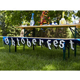 7.5 Foot Oktoberfest Fringed Metalic Banner Party Decorations - DutchNovelties  - 2