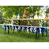 7.5 Foot Oktoberfest Fringed Metalic Banner Party Decorations - DutchNovelties  - 3