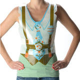 Plastic Oktoberfest Lederhosen Costume Vests Pack of 48 - DutchNovelties