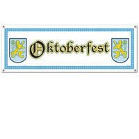 Oktoberfest Sign Banner Party Accessory - DutchNovelties