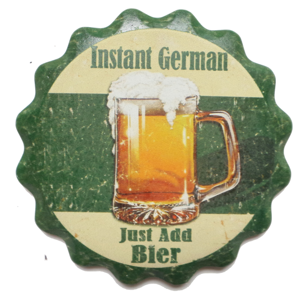 Ceramic Coaster Gift Set: Instant German - DutchNovelties