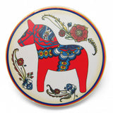Red Dala Horse Ceramic Tile Coaster - DutchNovelties