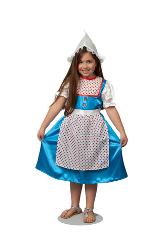 Dutch Girl's Cute Costume - DutchNovelties  - 1
